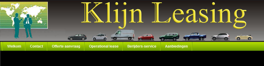 Website Klijn Leasing